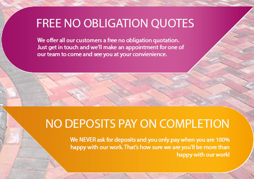 free no obligation quotes & pay on completion