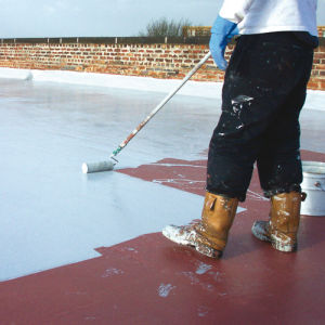 Liquid Roofing Process